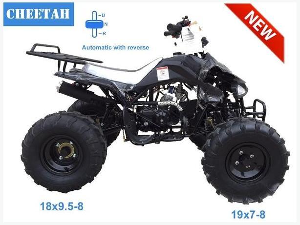 Tao Tao 125 Junior ATV comes with free DOT HELMET.