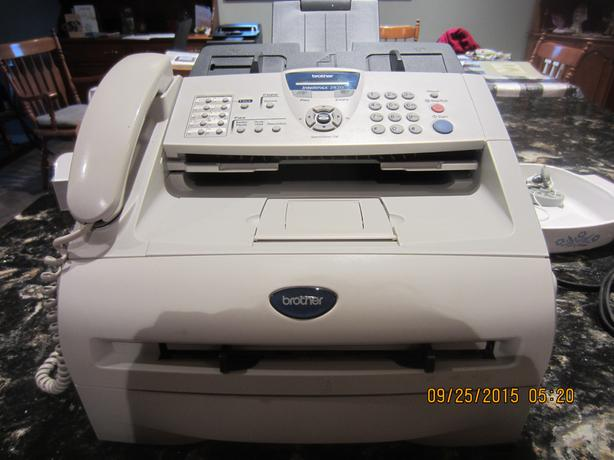 Brother IntelliFax 2820 Phone and Fax