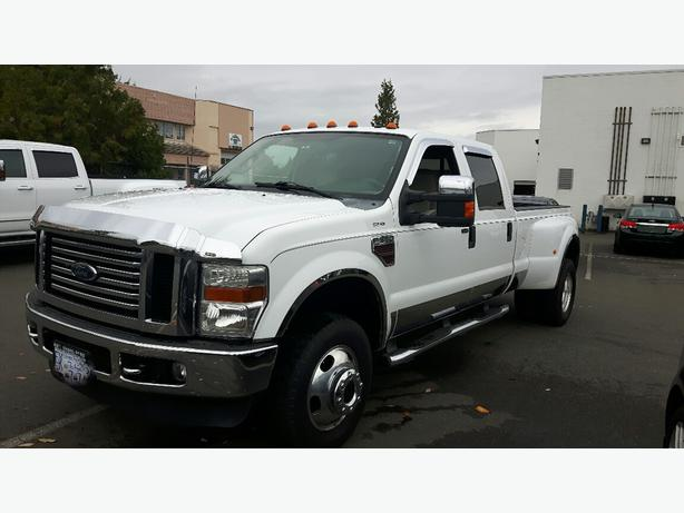 USED 2008 FORD SUPER DUTY F-350 DRW CREW CAB LARIAT FOR SALE IN PARKSVILLE