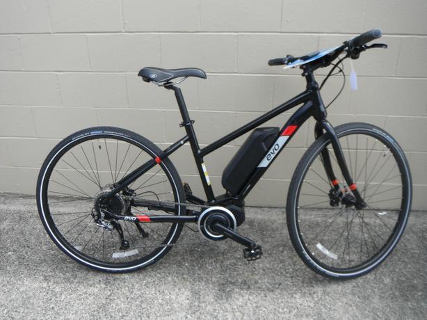 evo md1 e bike with shimano steps outside victoria victoria. Black Bedroom Furniture Sets. Home Design Ideas