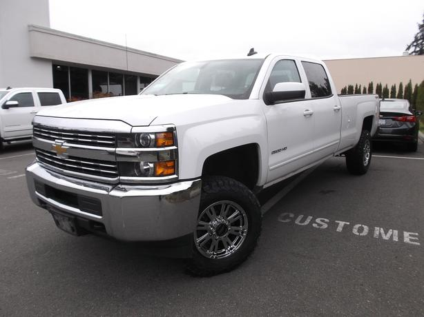 2015 USED CHEVROLET 2500 CREW CAB LONG BOX 4X4 FOR SALE