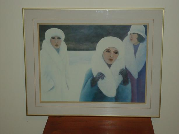 Framed reproduction