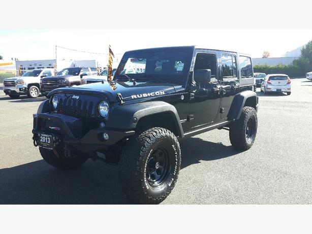 USED 2014 JEEP WRANGLER UNLIMITED RUBICON FOR SALE IN PARKSVILLE