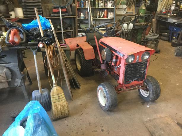 Vintage Case Garden Tractor