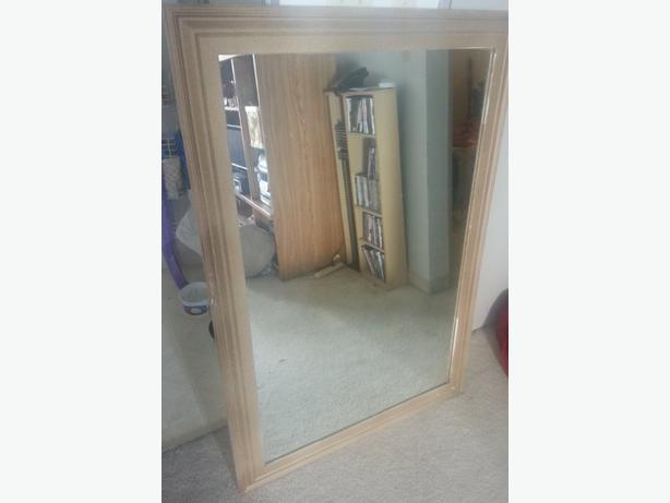 Stunning, gold framed mirror