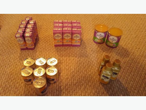 Assorted Brands of Infant Formula