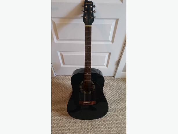 Samick Acoustic Electric Guitar & Case