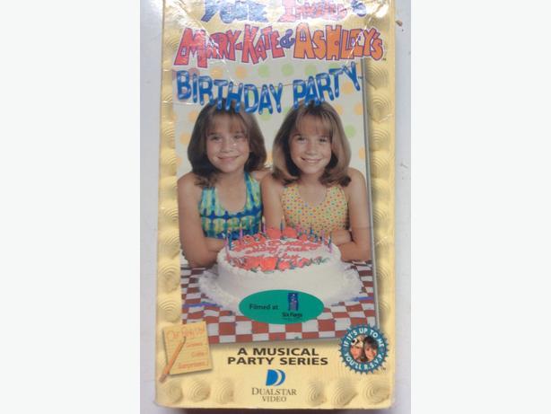 VHS kid movies