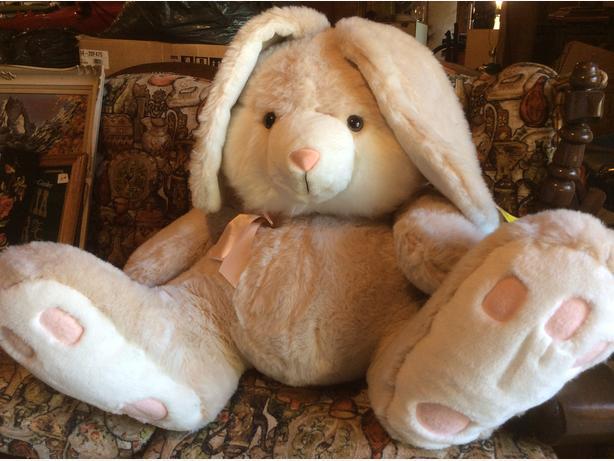giant stuff bunny