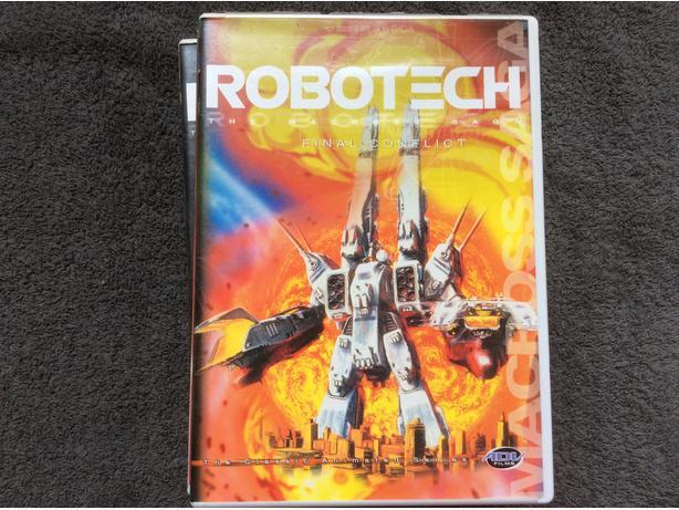 Robotech DVD set