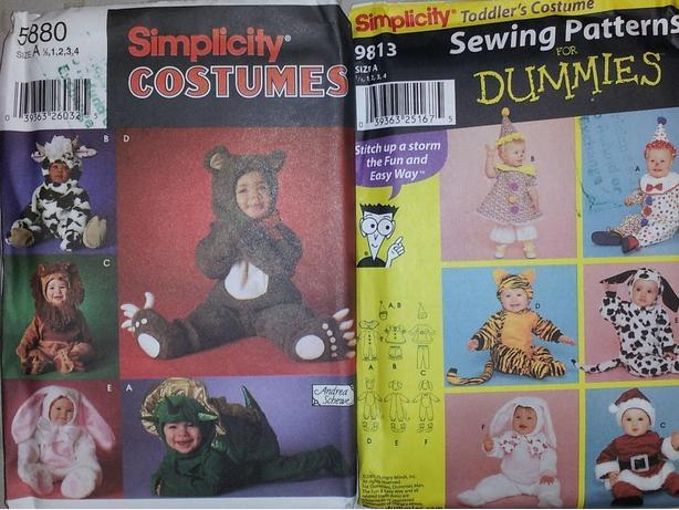 $4 NEW EASY SEW PATTERNS PLACEMATS MENS & KIDS CLOTHES COSTUMES DECOR