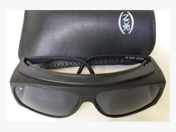 NoIr Sunglasses 100 % UV protection No 22 is 13% Dark Grey