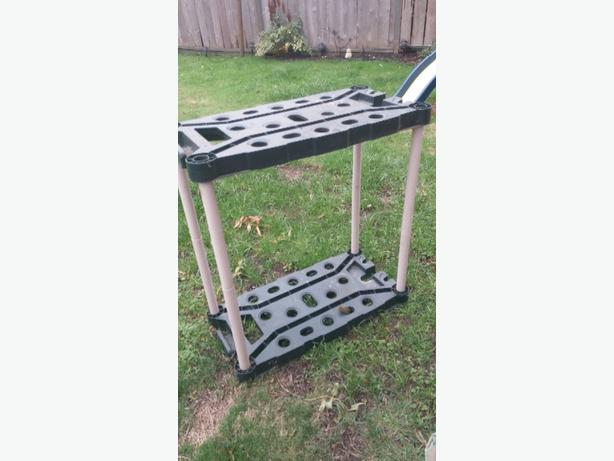 Free garden tool storage victoria city victoria for Gardening tools victoria