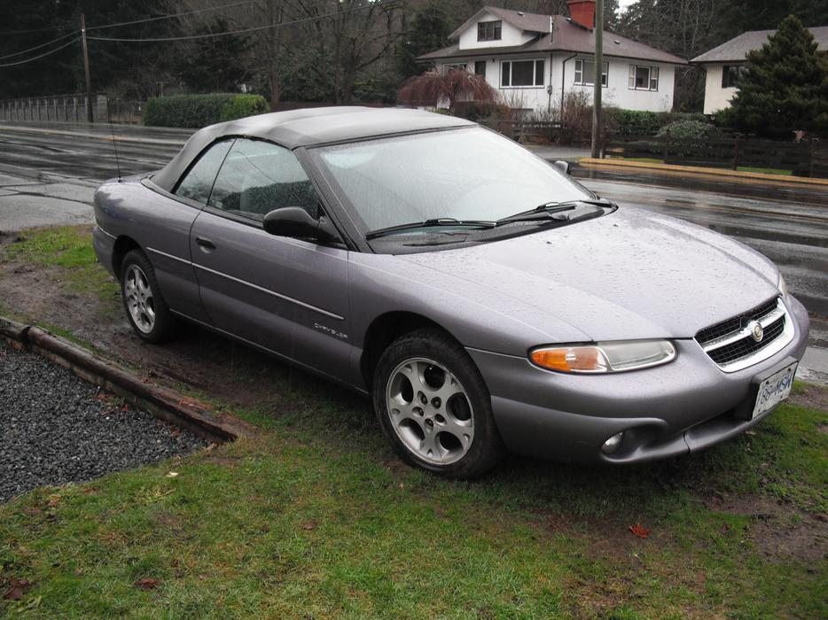 Parts Or Whole 1997 Chrysler Sebring Convertable West