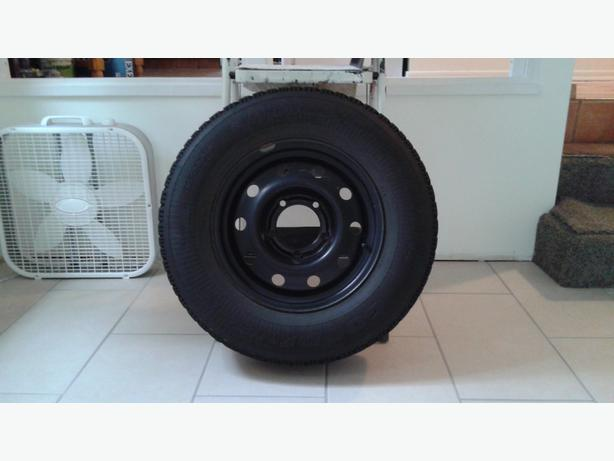 GOODYEAR NORDIC SNOW TIRES ON RIMS (SET OF 4)