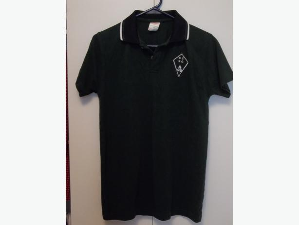 Brand new! SAMUEL GENEST HIGH SCHOOL Uniform Shirt - New - Size Junior XL