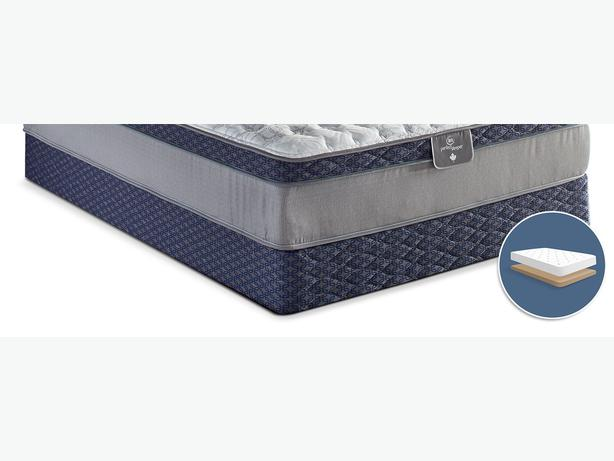 Brand new Sertapedic® 85th Anniversary Low-Profile Queen BOXSPRING ONLY