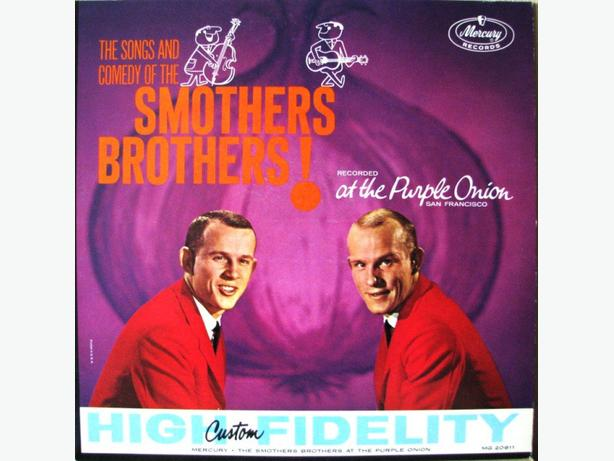 Smothers Brothers LPs - Sixties Folk