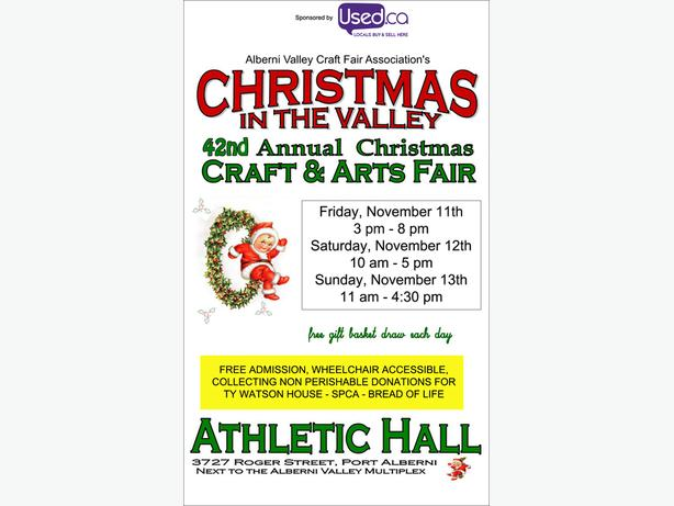 2016 Christmas in the Valley Craft Fair