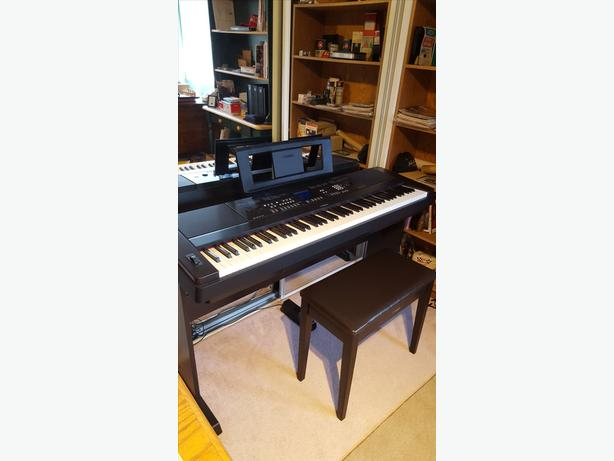 yamaha dgx 650 portable grand keyboard digital piano west. Black Bedroom Furniture Sets. Home Design Ideas