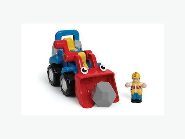 WOW brand toy digger truck