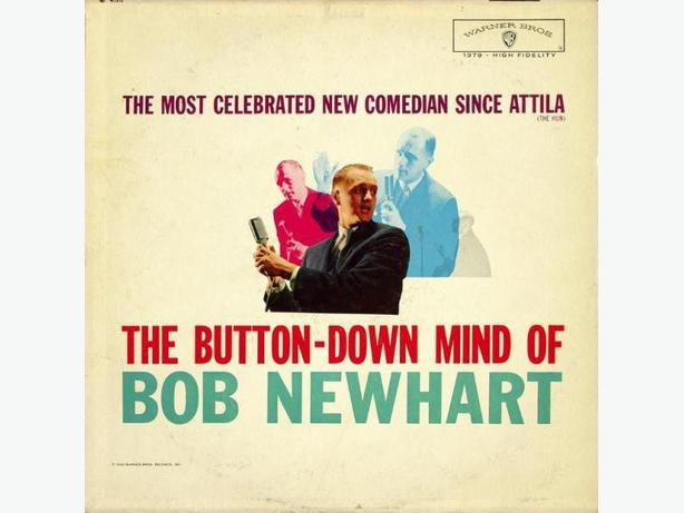 Bob Newhart LPs - Comedy