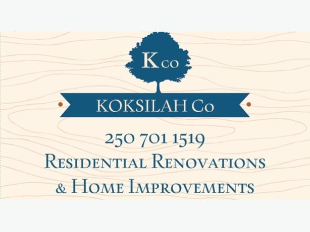Koksilah Co: General Handyman, Home & Acreage Maintenance