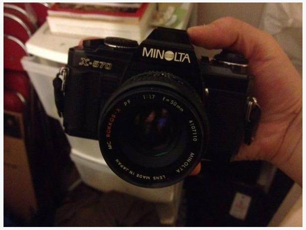 Vintage Film Camera: Minolta X-570