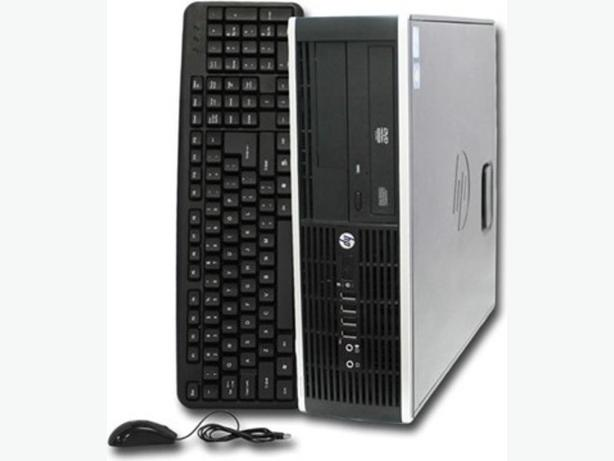 "Refurbished HP 6200 Pro SFF desktop with Samsung 19"" LCD"