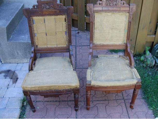 TWO LAKESIDE CHAIRS