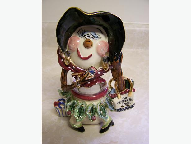 CHRISTMAS T-LITE CANDLE HOLDER