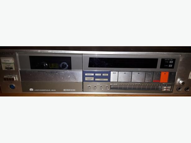 Sony TCFX77 cassette tape deck