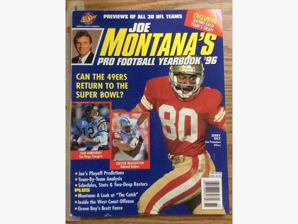 Joe Montana booklet for sale