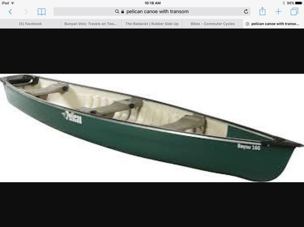 16 foot pelican canoe