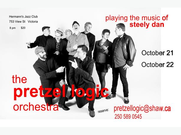 Steely Dan fans!   Oct 21 and 22 - The Pretzel Logic Orchestra