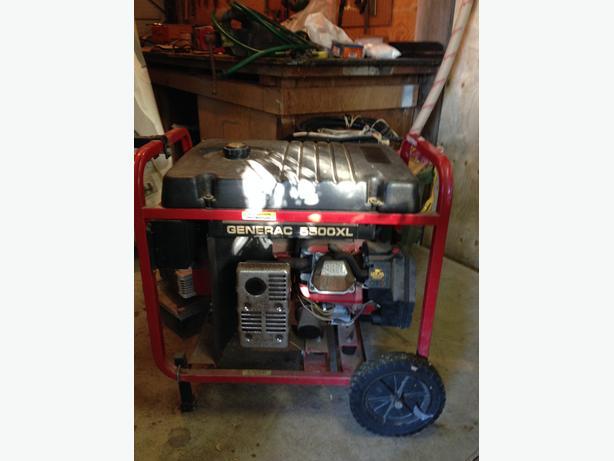 5500 watt Generac generator
