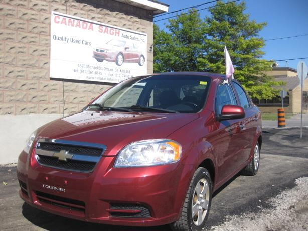 2010 Chevrolet Aveo AUTO , 64km !! 12M.WRTY+SAFETY $5700