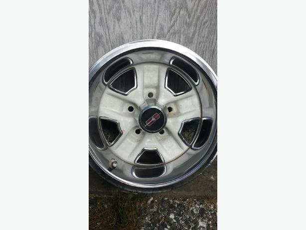 14 inch olds rally wheels