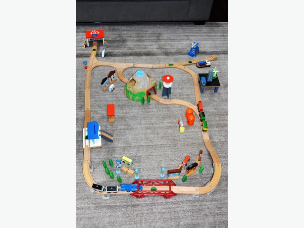 Kids Train Set -wooden