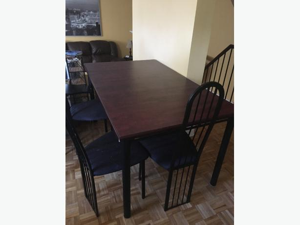Cherry Wood Dining room table & chairs