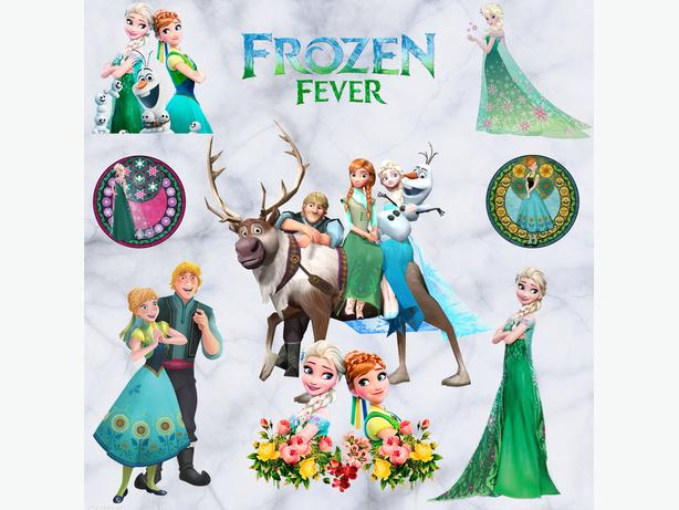 New Frozen Fever Wall Decal