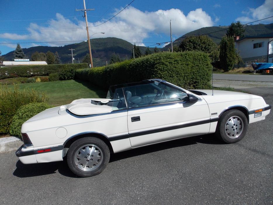 1987 Chrysler Lebaron Convertible Outside Victoria Victoria