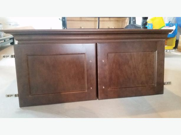 Above fridge kitchen cabinet for sale