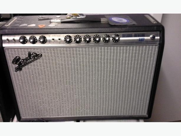 Fender Deluxe Reveb amp