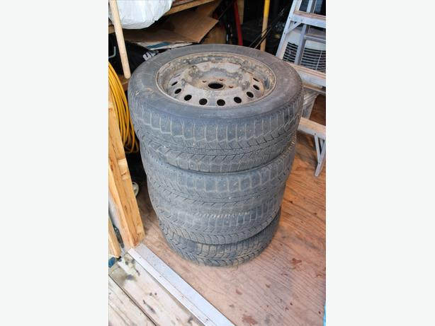 4 Winter Tires on Rims, fits CAMRY 2006-2009