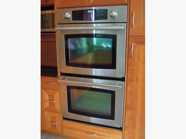 30 double wall oven 2 x 5 cu ft ovens north saanich for High end wall ovens