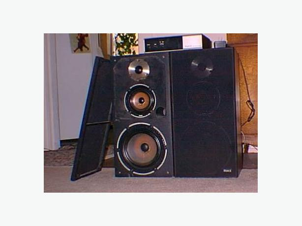KLH 2 and Audio Logic Speakers