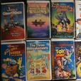 Walt Disney VHS movies