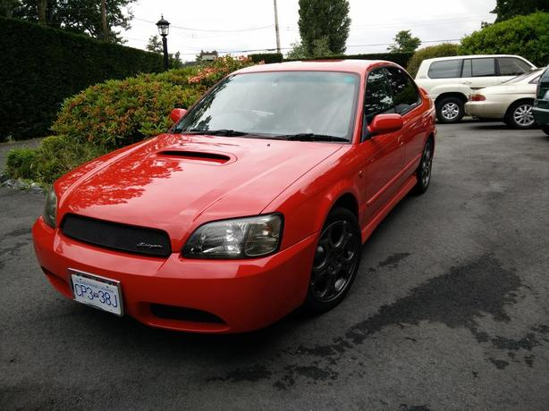 2001 Subaru Legacy B4 RSK BLITZEN edition,
