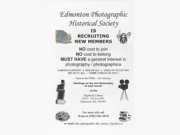 FREE: Camera / Photography Club… FREE …all welcome